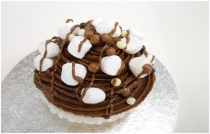 ROCKY ROAD CUP CAKE