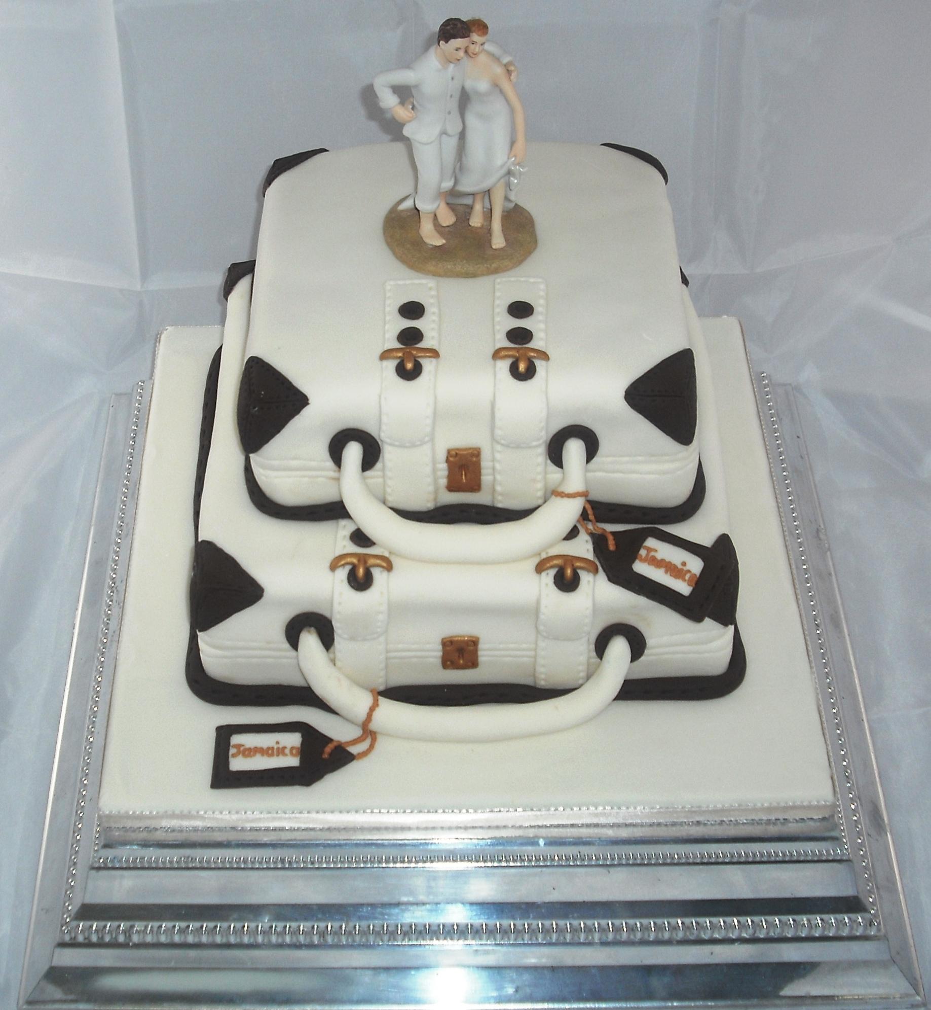 Luggage Cake Jenkins Bakery